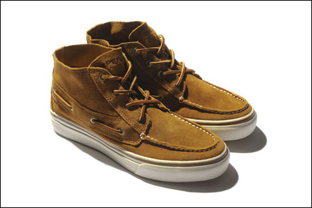 sperry top-sider推出洗水皮革复古帆船鞋