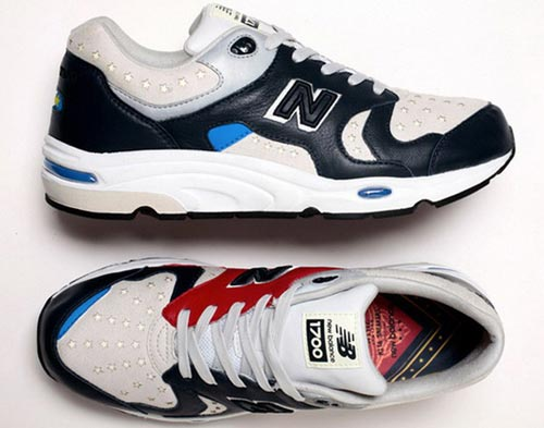 Whiz × mita sneakers × New Balance 三方联名鞋款